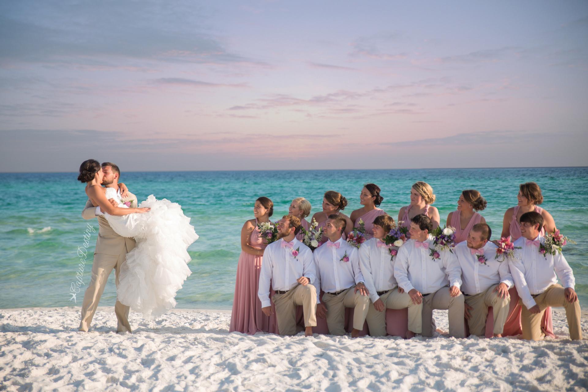 Jordan Austin Destin Beach Wedding Capture Destiny Photos